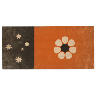 Northern Territory Wood USB Flash Drive