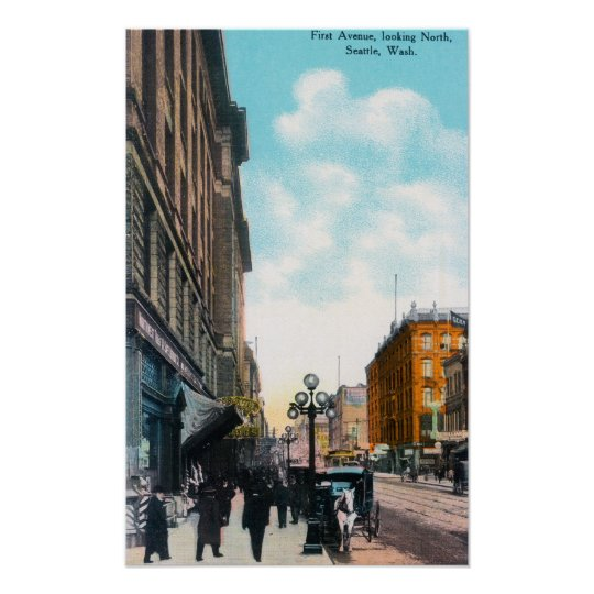 Northern View from First Avenue Poster
