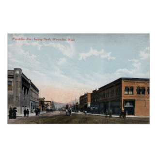 Northern View from Wenatchee Avenue Poster