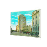 Northern View of Bannock St Canvas Print