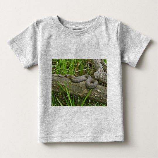 Northern Water Snake Basking on Log Multiple Items Baby T-Shirt