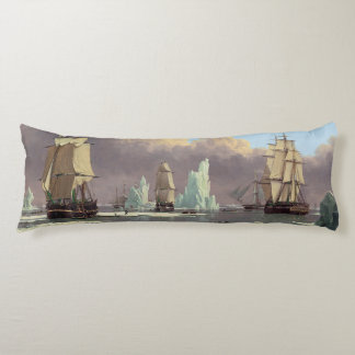 """Northern Whale Fishery: """"Swan"""" & """"Isabella"""" Body Pillow"""