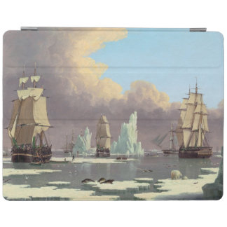 """Northern Whale Fishery: """"Swan"""" & """"Isabella"""" iPad Cover"""