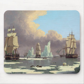 "Northern Whale Fishery: ""Swan"" & ""Isabella"" Mouse Pad"