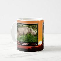 Northern White Rhino is an endangered species - Coffee Mug