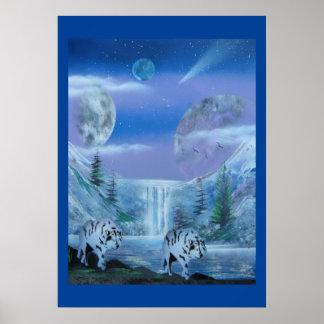 Northern Wolfpack print