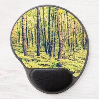 Northern Woodlands Vintage Style Gel Mouse Pad