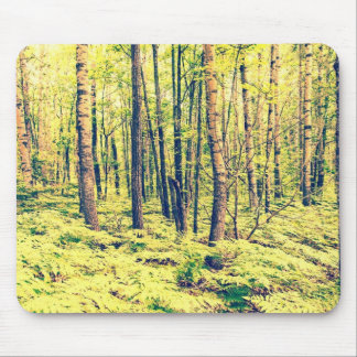 Northern Woodlands Vintage Style Mouse Pad