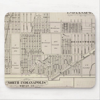 Northerneastern part of Indianapolis Mouse Pad
