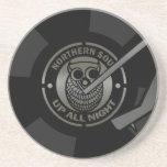 NorthernSoul vinyl on turntable Drink Coaster