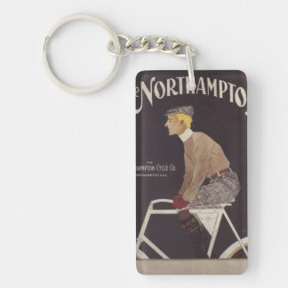 Northhampton Cycle Co. Vintage Poster Keychain