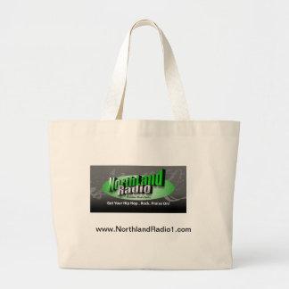 NorthlandRadio1 Large Tote Bag