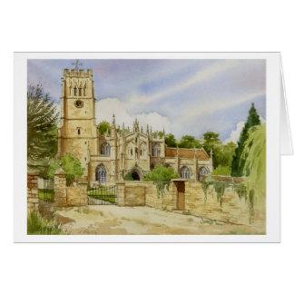 Northleach Parish Church Greeting Card