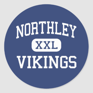 Northley Vikings Middle Aston Pennsylvania Classic Round Sticker