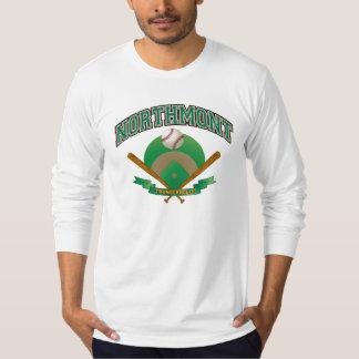 Northmont Baseball Field with Crossed Bats T-Shirt