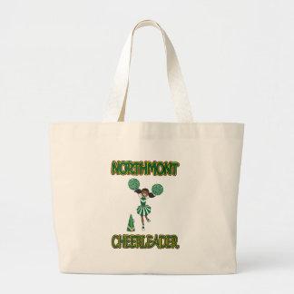 Northmont Cheerleader - African American Jumbo Tote Bag