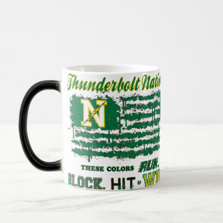 Northmont Thunderbolt Nation Flag Magic Mug