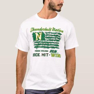 Northmont Thunderbolt Nation Flag T-Shirt