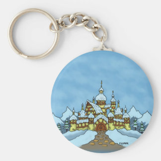 northpole holiday winter keychain