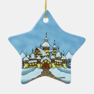 northpole holiday winter christmas tree ornament