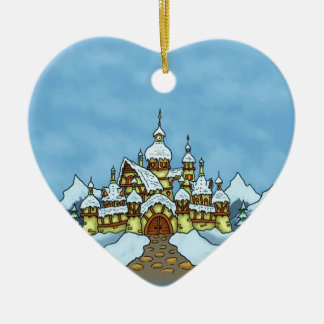 northpole holiday winter ornament