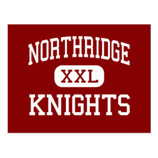 Northridge - Knights - High School - Layton Utah Postcard