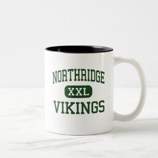 Northridge - Vikings - High - Johnstown Ohio Two-Tone Coffee Mug