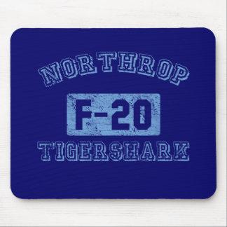 Northrop F-20 Tigershark - BLUE Mousepads