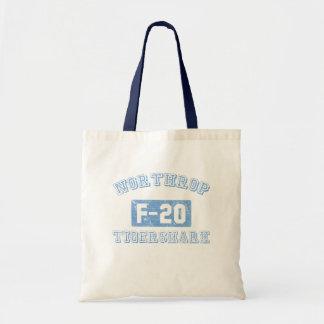 Northrop F-20 Tigershark - BLUE Tote Bags