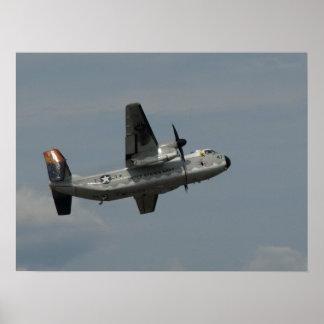 Northrop Grumman C-2A Greyhound. Poster