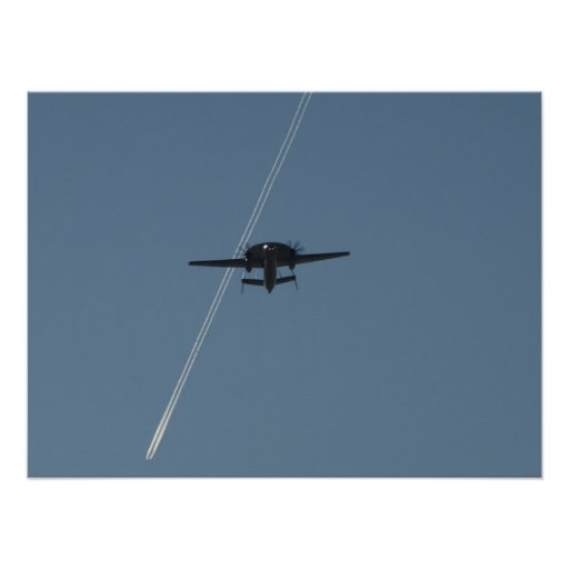 Northrop Grumman E-2C Hawkeye. Póster