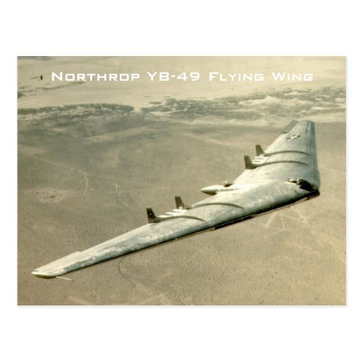 Northrop YB-49 Flying Wing Post Cards