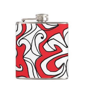 """Northrup"" 631 Art Flask"