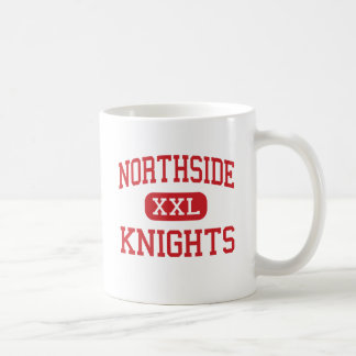 Northside - caballeros - centro - Bosque verde Taza Básica Blanca