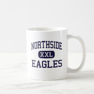 Northside - Eagles - altos - petirrojos Georgia de Taza Básica Blanca