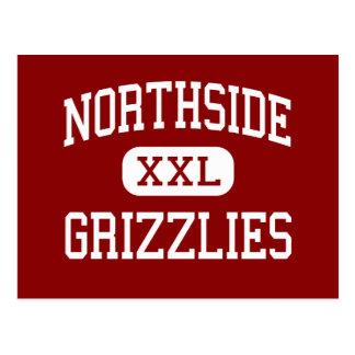 Northside - grisáceos - alto - Fort Smith Arkansas Tarjeta Postal