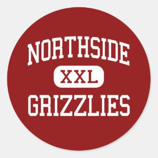 Northside - Grizzlies - High - Fort Smith Arkansas Classic Round Sticker