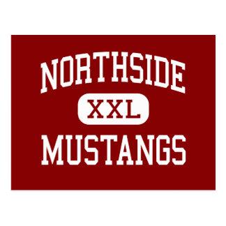 Northside - mustangos - universidad - Chicago Postales