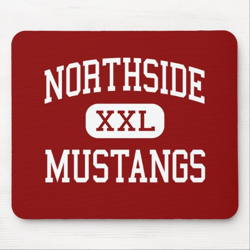 Northside - Mustangs - College - Chicago Illinois Mouse Pad
