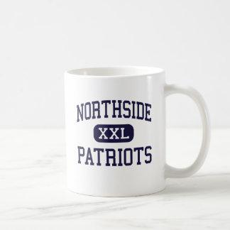 Northside - patriotas - alto - Columbus Georgia Taza Básica Blanca