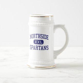 Northside Spartans Columbus media Indiana Jarra De Cerveza