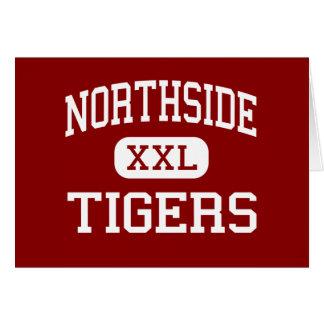Northside - tigres - centro - Tuscumbia Alabama Tarjeta De Felicitación