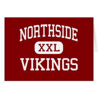 Northside - Vikingos - altos - Lafayette Luisiana Tarjeta De Felicitación
