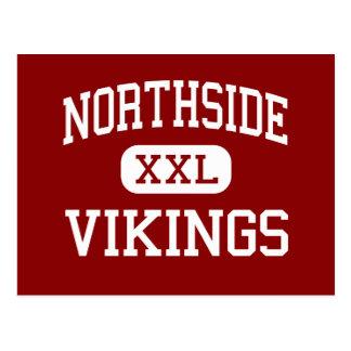 Northside - Vikingos - altos - Lafayette Luisiana Tarjeta Postal