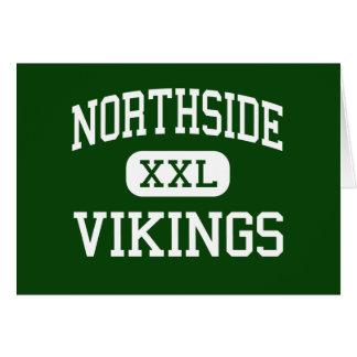 Northside - Vikingos - altos - Roanoke Virginia Tarjeta De Felicitación