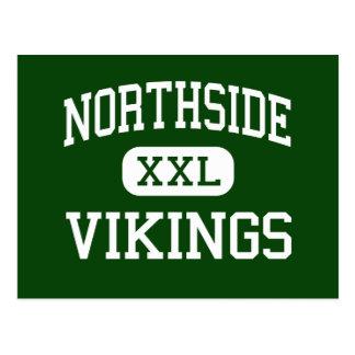 Northside - Vikingos - altos - Roanoke Virginia Tarjeta Postal