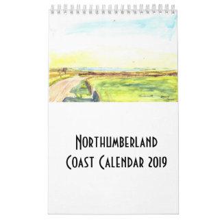 Northumberland Coast Calendar 2019