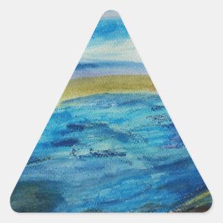 Northumberland Coast Triangle Sticker
