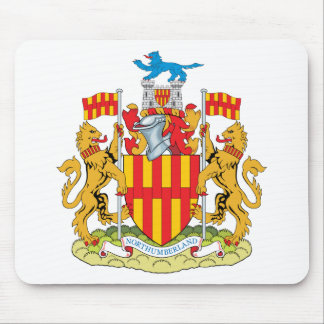 Northumberland Coat of Arms Mouse Pad