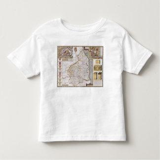 Northumberland, engraved by Jodocus Hondius Shirt